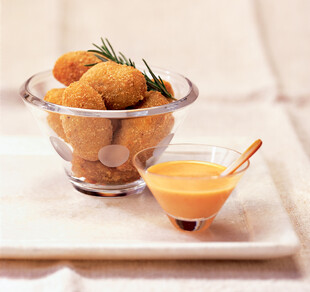 Spicy Idaho® Potato and Chicken Croquettes