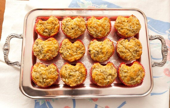 Idaho® Potato-Asiago Cheese Muffins with Herbes de Provence