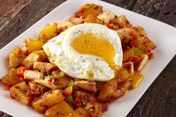 Idaho® Potato And Trout Hash