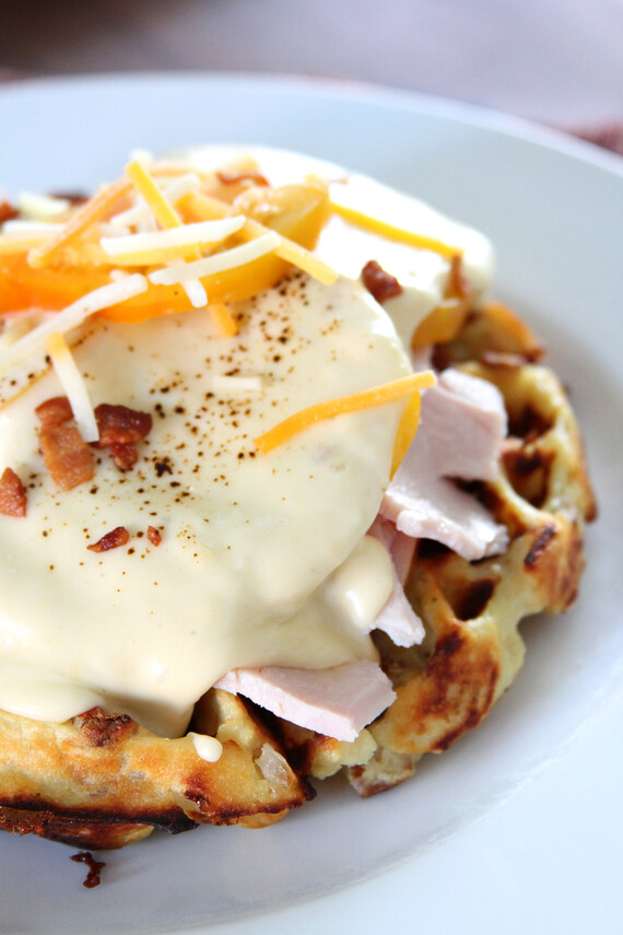 Kentucky Hot Brown Idaho® Potato Waffles