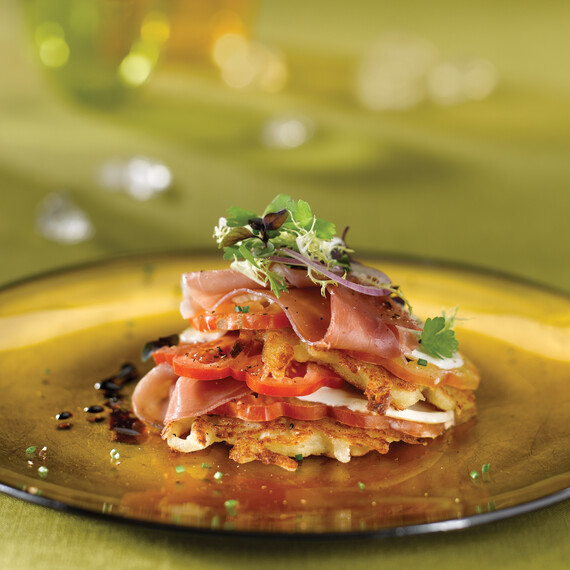 Idaho® Potato Pancake Short Stack
