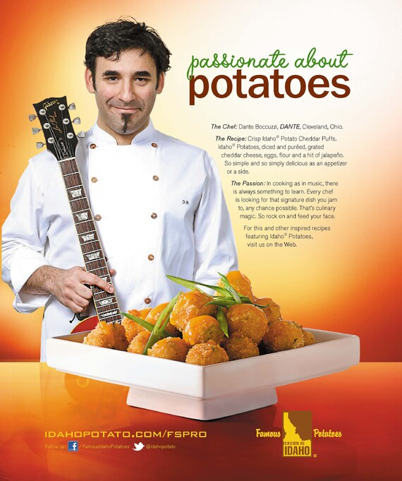 Crisp Idaho® Potato Cheddar Puffs