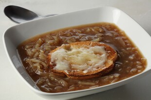 Rustic Idaho® Potato Onion Soup