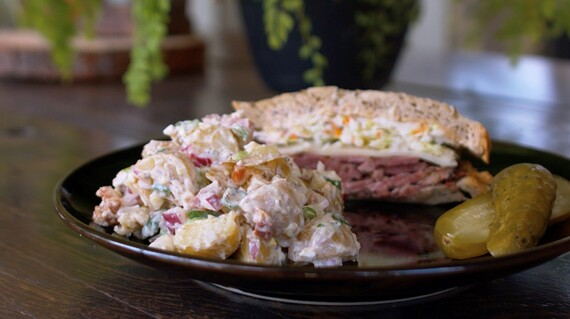 Bacon and Egg Idaho® Potato Salad with Greek Yogurt
