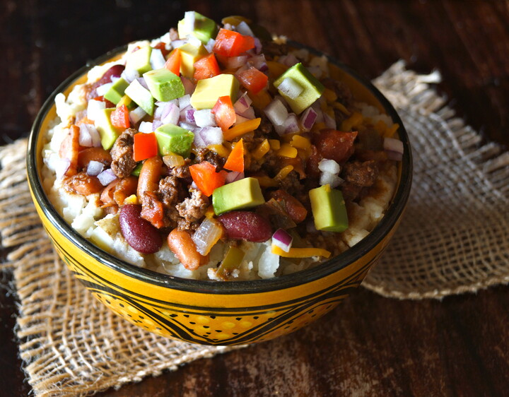Turkey Chili Idaho® Potato Bowl