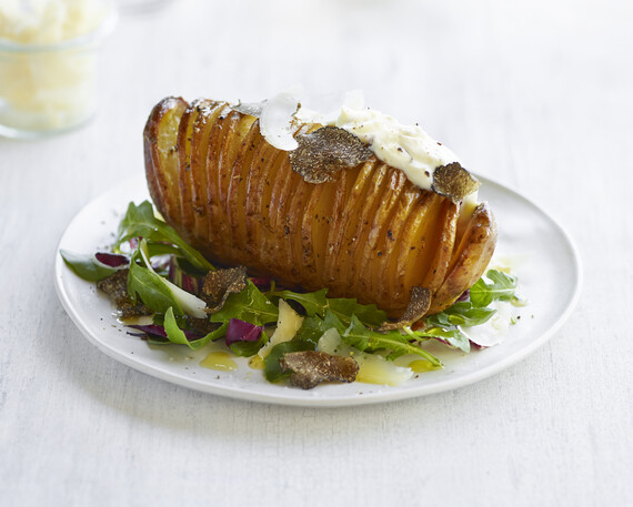 Ampersand's Truffled Hasselback Idaho® Potato