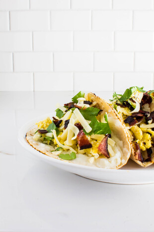 Idaho® Potato Mashed Potato Breakfast Tacos