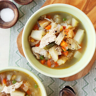 Hearty and Heart-Healthy Idaho® Potato Soup/Stew