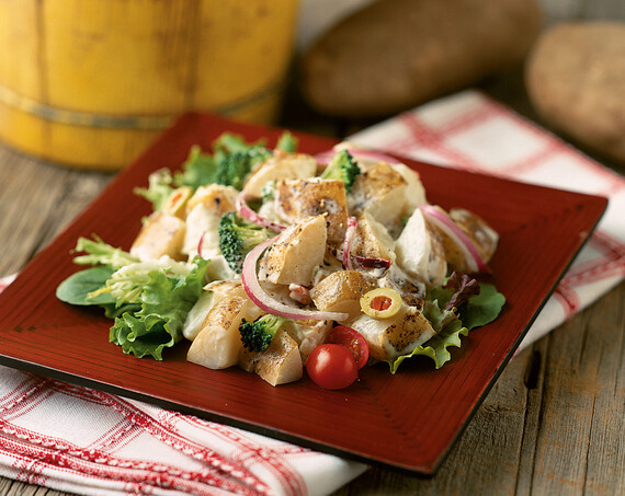 Idaho® Potato, Broccoli and Fennel Salad