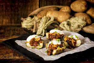 Loaded Baked Idaho® Potato Skins