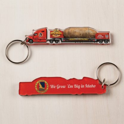Big Idaho Potato Truck commemorative keychain