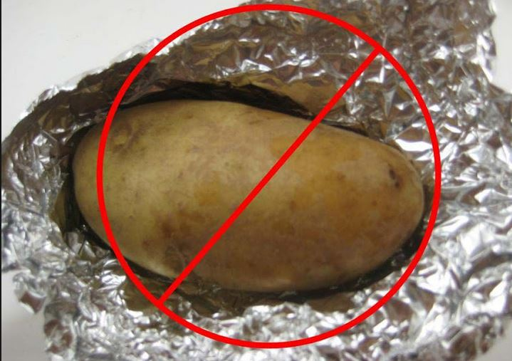 Idaho potato commission baked potato in foil ccuart Image collections