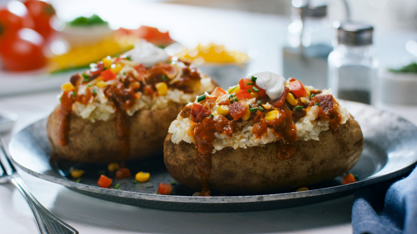 Southwestern Baked Potatoes