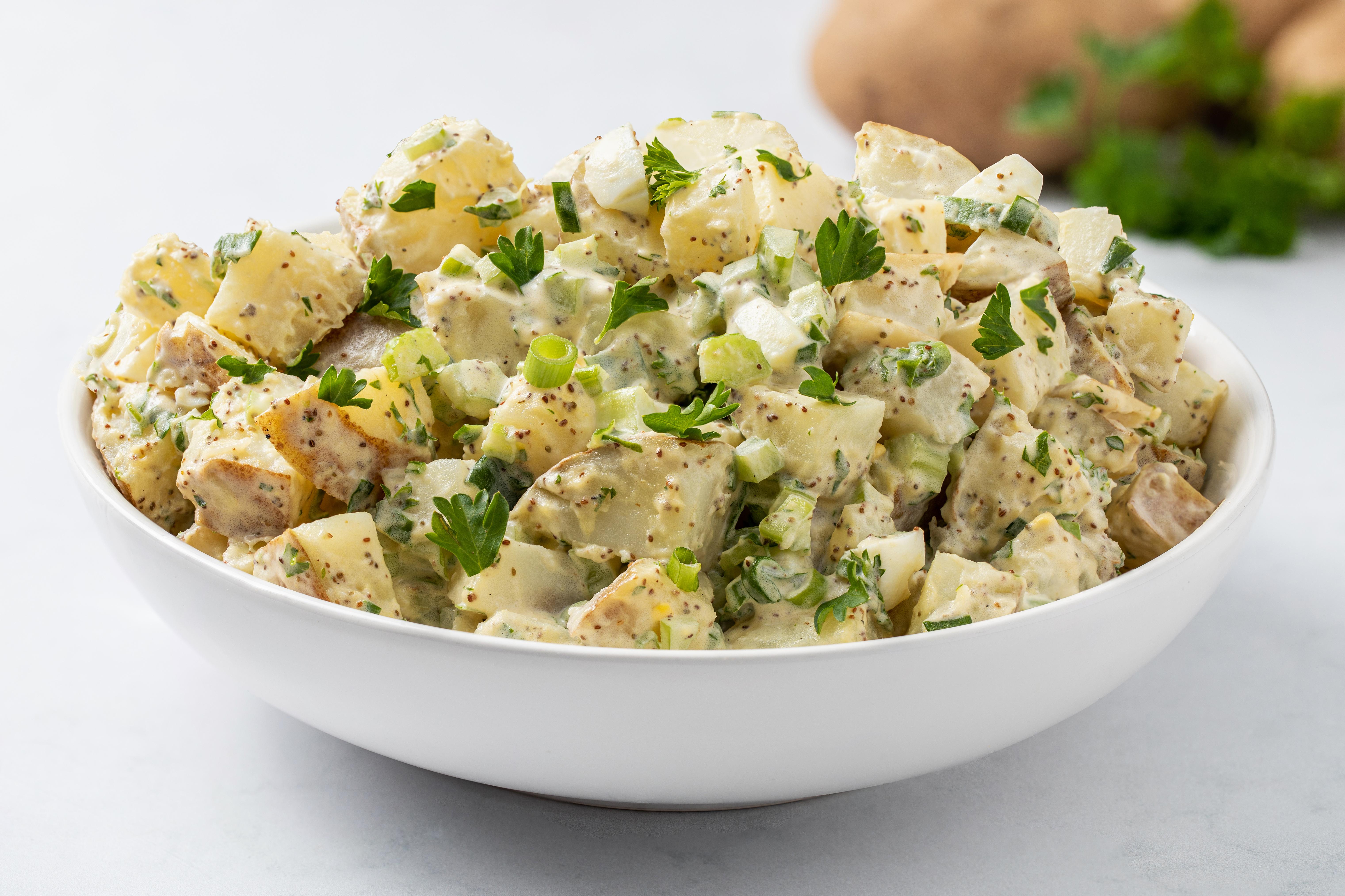 Traditional Potato Salad Recipe With Egg