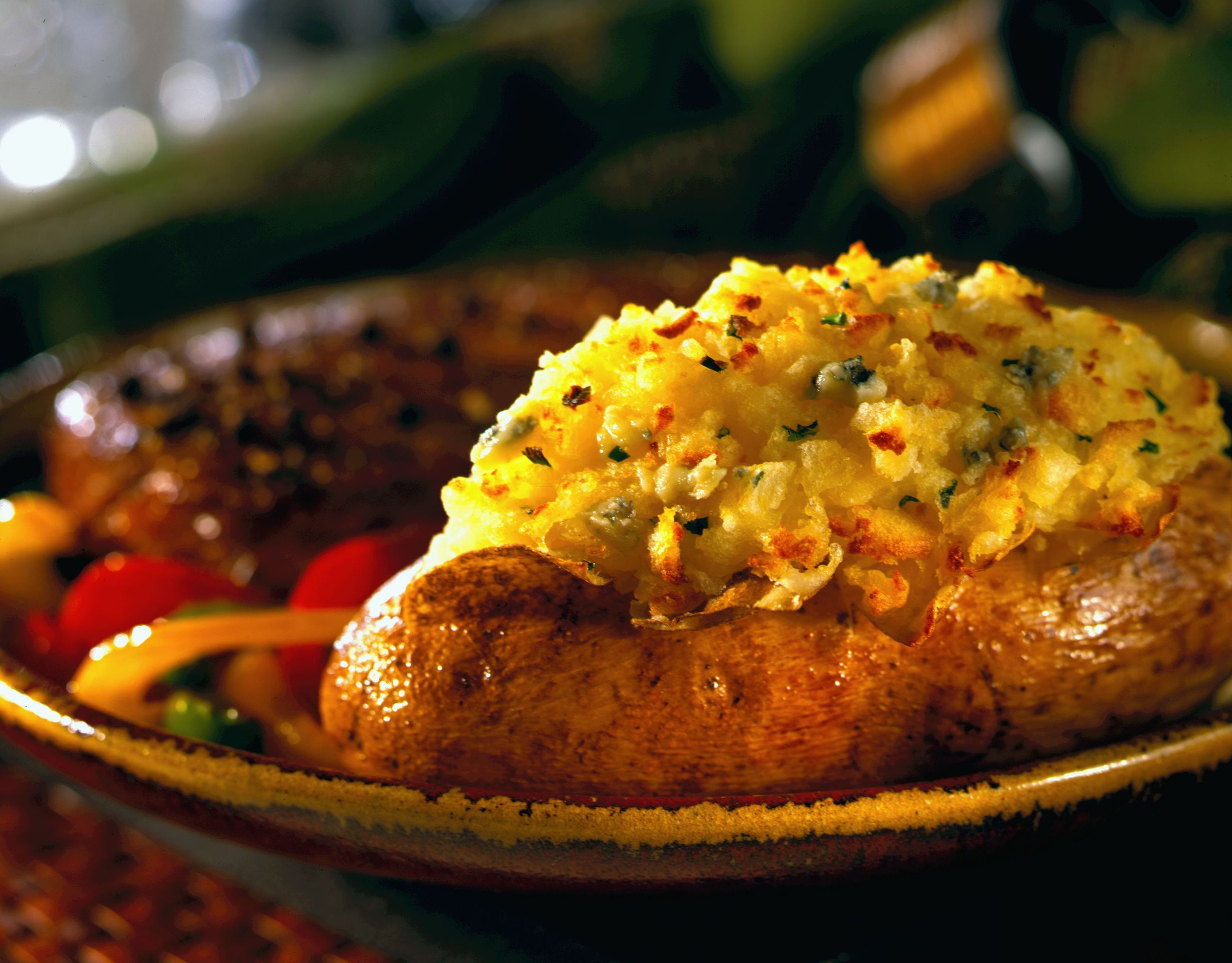 Blue Cheese Double-Baked Idaho® Potatoes