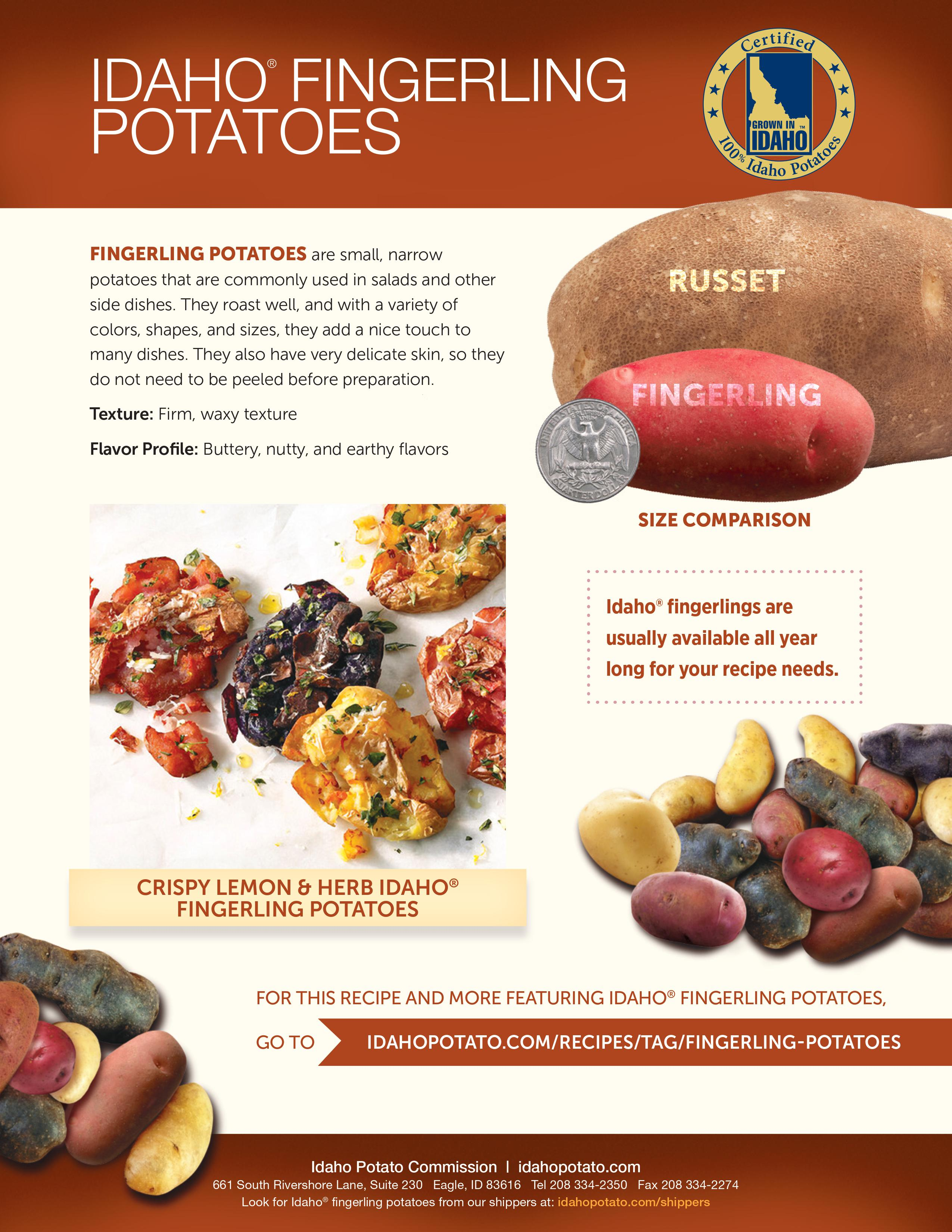 Idaho® Fingerling Potatoes