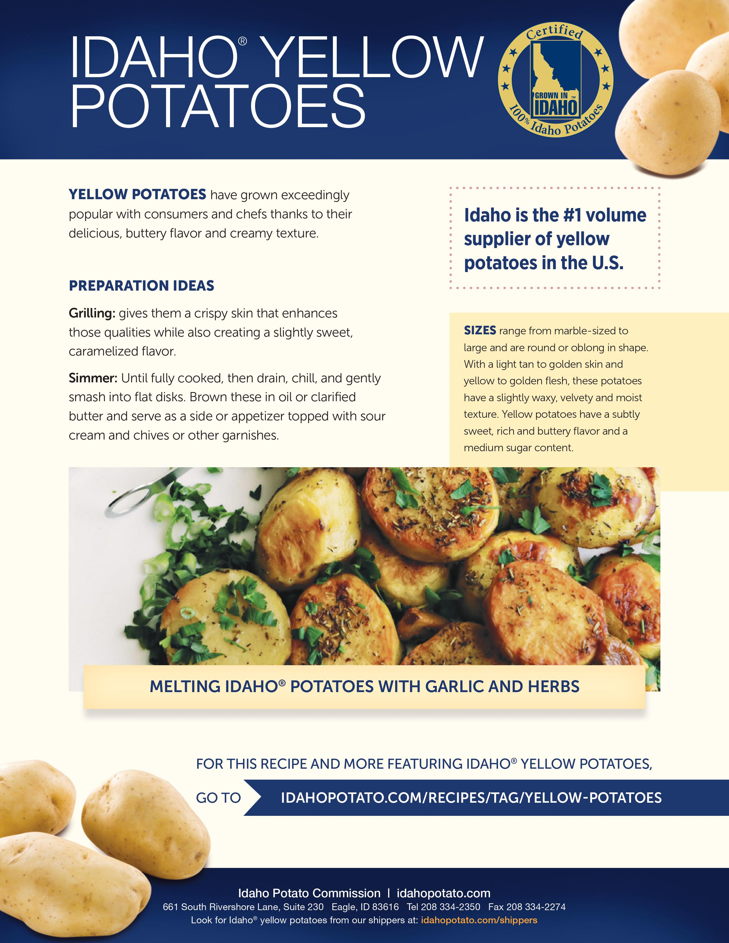 Idaho® Yellow Potatoes