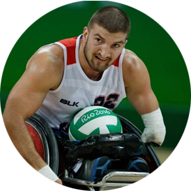 Kory Puderbaugh - Silver Medalist Rio Paralympics, Wheelchair Rugby