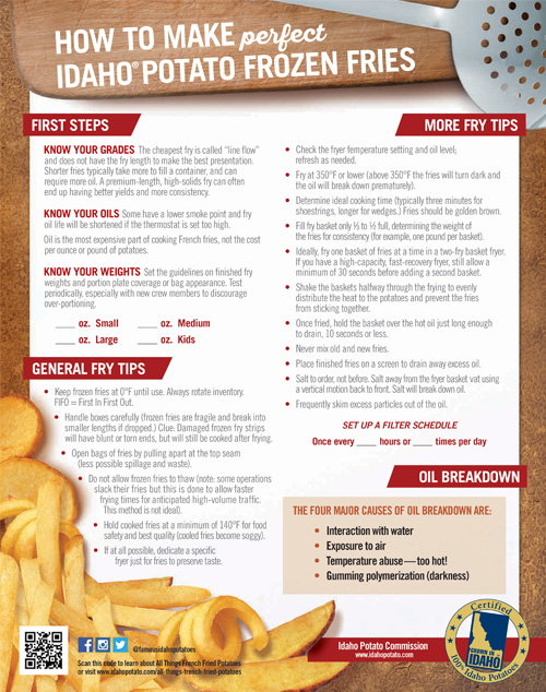 How To Make Perfect Idaho® Potato Frozen Fries