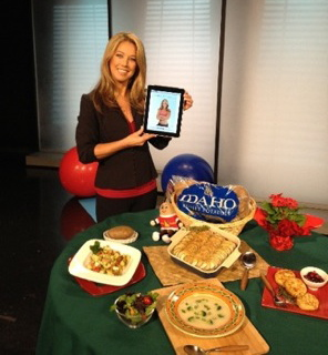 Fitness expert Denise Austin displayed her new workout application and plenty of heart-healthy Idaho® potato recipes during her national satellite media tour.