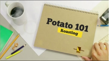 The Idaho Potato Commission's new website, Potato101, features a wealth of potato information, including a series of instructional videos demonstrating various potato preparations, such as roasting, baking and making potato chips.