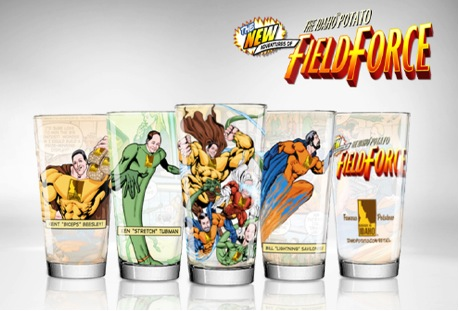 Pint glass sets serve up a toast to each Field Force