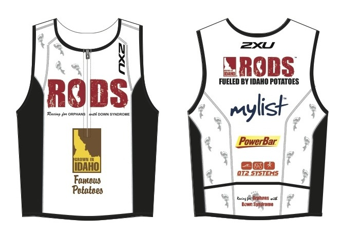 The RODS Racing athletes will proudly wear the Idaho Potato Commission's logo on their jerseys as they race to raise funds for orphaned children with Down syndrome.